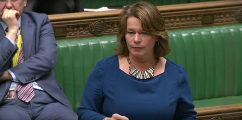MP gives emotional speech about her rape ordeal in the House of Commons
