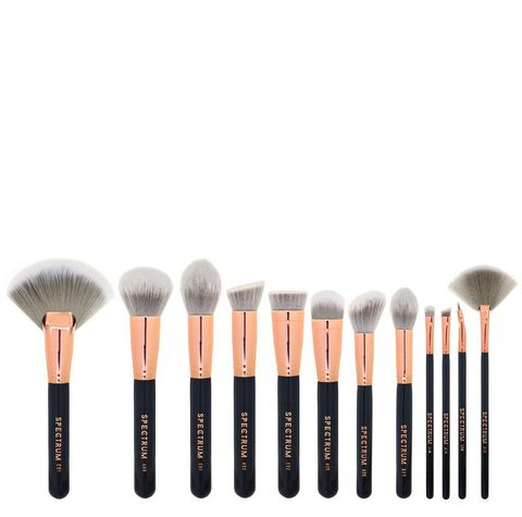 Product, Brush, Beige, Peach, Makeup brushes, Cosmetics, Circuit component, Personal care, Cleanliness,