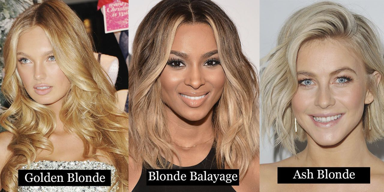 24 Blonde hair colours From ash to dark blonde Here's