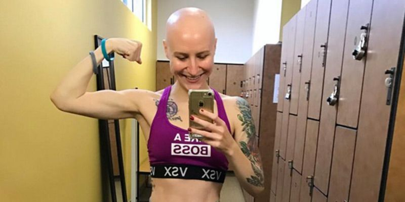 Fitness Blogger Posts Moving Instagram About The Realities Of Being Diagnosed With Ovarian Cancer