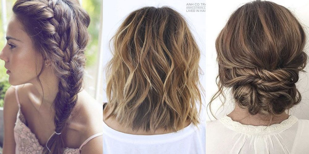 These Are The 5 Most Popular Christmas Party Hairstyles On Pinterest