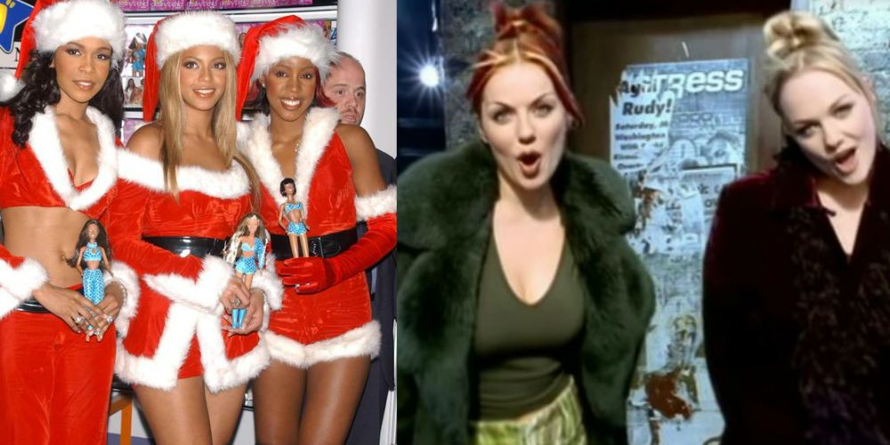 10 of the best fashion moments from \'90s/\'00s Christmas music videos