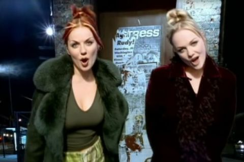 1 geri and emmas quality street homage spice girls 2 become 1 - Best Christmas Music Videos