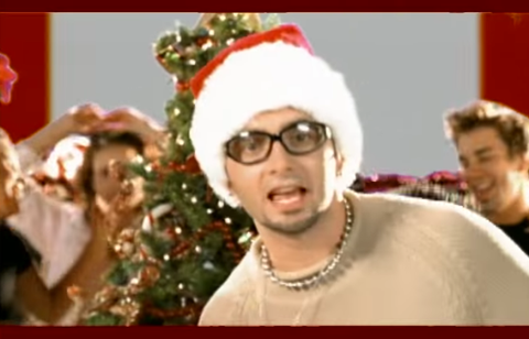 Nsync Merry Christmas.10 Of The Best Fashion Moments From 90s 00s Christmas