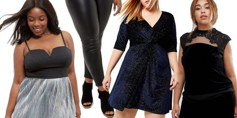 the best christmas party wear for curves