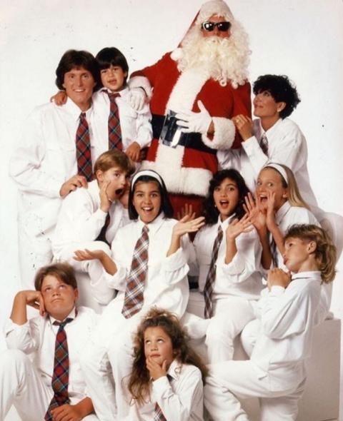 The Kardashian Christmas Card 2021 Kardashian Christmas Cards From Years Gone By