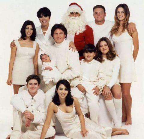 Kardashian Christmas Cards.Kardashian Christmas Cards From Years Gone By