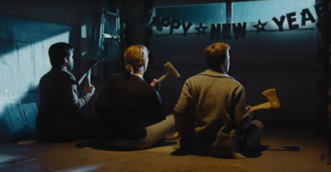Someone made 2016 into a horror movie trailer