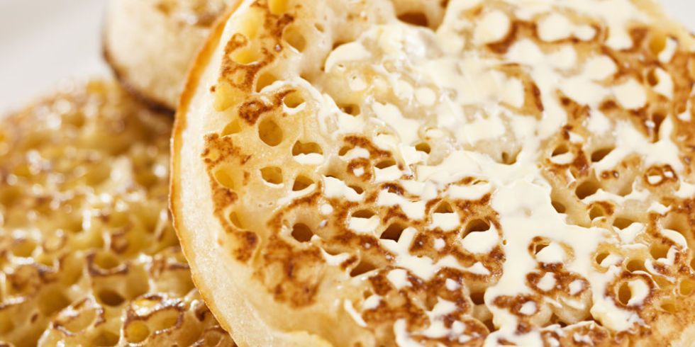 This is why crumpets have holes