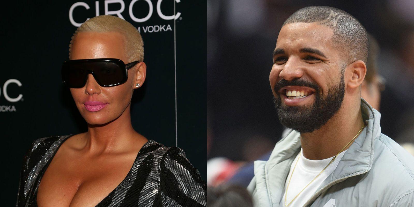 Drake dating amber rose