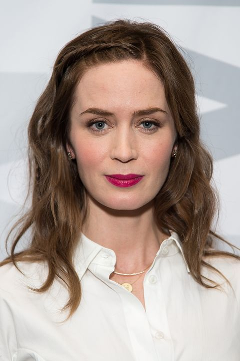 long length hair style medium hairstyles for 23 mid length haircuts to try 3997 | emily blunt braid.jpg?crop=1