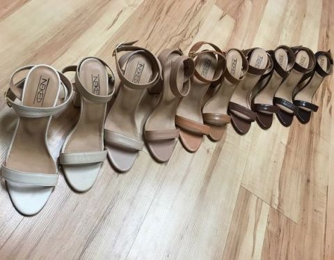 a6fb68122 This British brand have launched a range of nude shoes for every skin tone