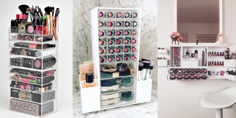Makeup organisers 2018 - 16 beauty storage solutions on