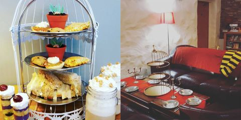 There's a Harry Potter themed afternoon tea and it looks amazing