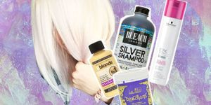 How to get white hair best products for no yellow tones