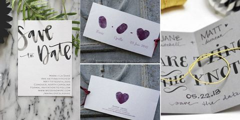 Homemade Wedding Invitations.22 Adorable And Easy Diy Wedding Invitations From Pinterest