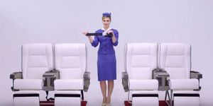 Cabin crew outfits over 100 years