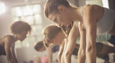 Hiit cardio gym workout