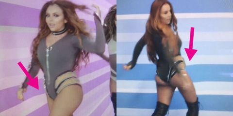 Little Mix fans call out 'photoshop fails' in new 'Touch' music video
