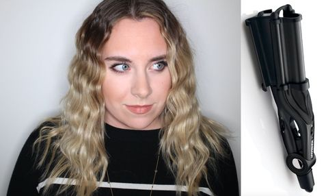 Best Curling Wand Review Toni Guy Deep Barrel Waver