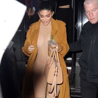 Kylie Jenner basically went out in a giant pair of nude tights