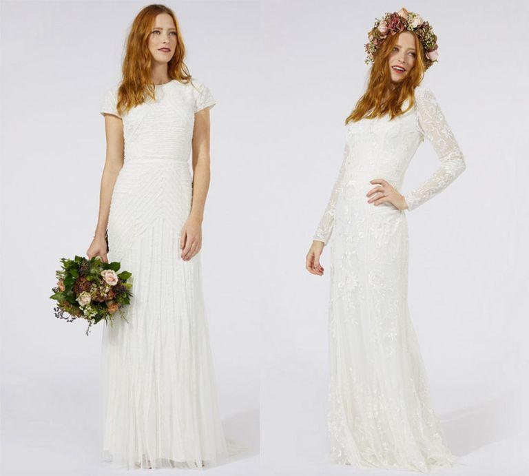 19 high street wedding dresses you\'ll love - high street brands ...