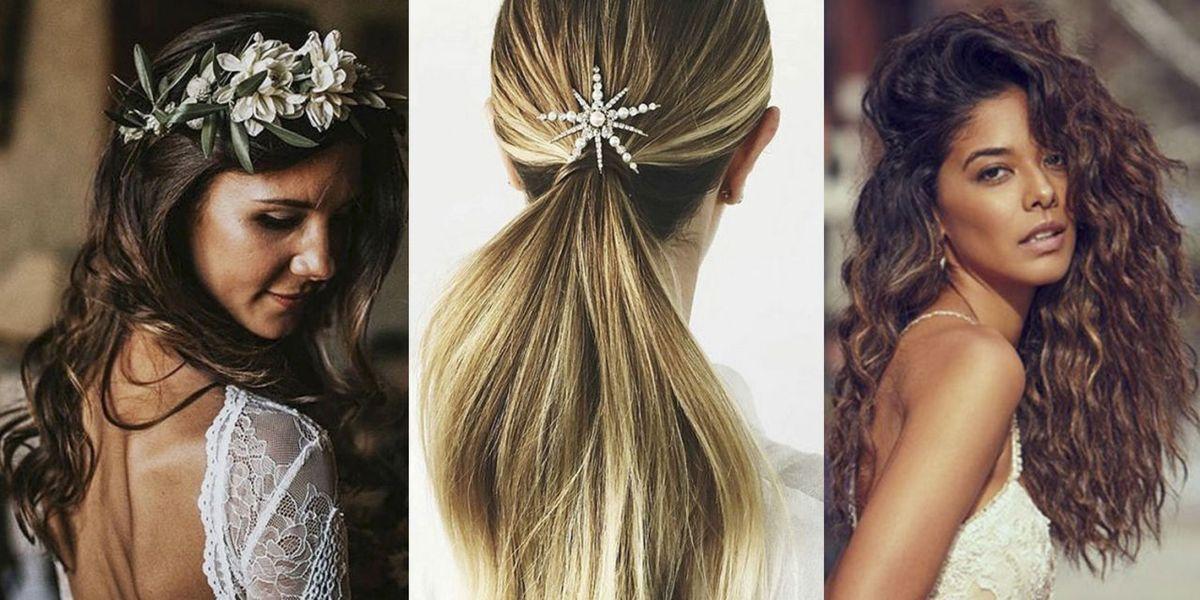 25+ Wedding Hair Ideas 2018