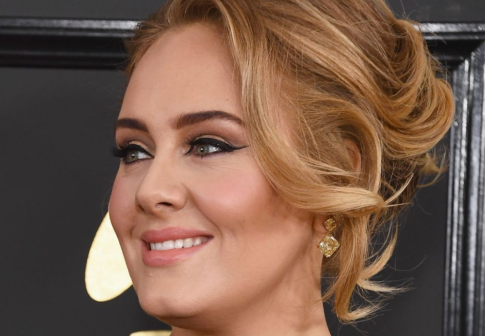 makeup product Adele wore on her face