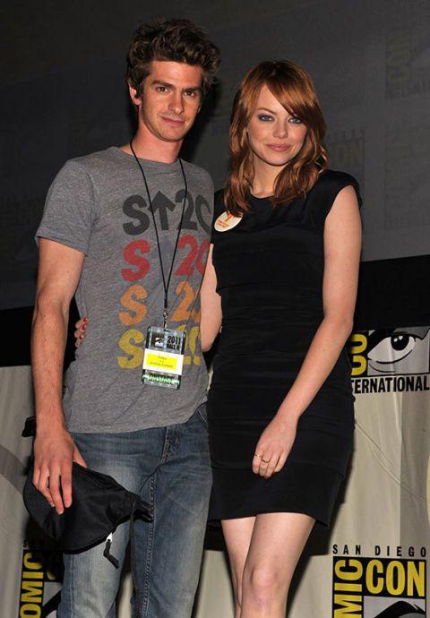 is Andrew Garfield en Emma Stone dating 2013