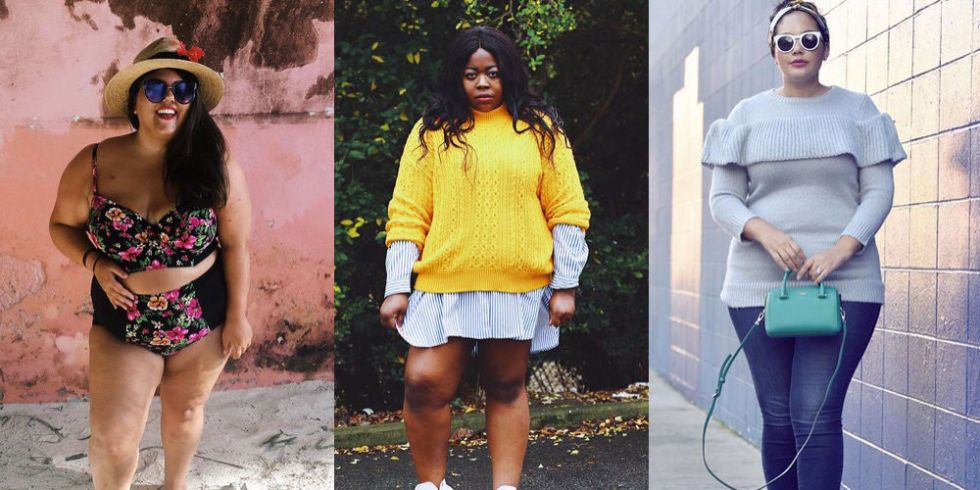 e3b9ece13464 The best curve fashion bloggers on Instagram