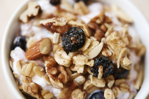 """<p>""""I have a friend who suddenly, at 40 years old, put on 20 pounds. She was confused, and to be honest, I was too&nbsp;because I knew she ate healthfully. Turns out, she had started making granola at home. It was packed with various nuts — a smart, antioxidant-rich snack that can also be very caloric. Plus, she was incorporating more fruit into her diet, specifically bananas and grapes, which are high in sugar. I suggested that she swap the granola for almonds (they're lower in calories, as long as you limit yourself to about 10 per day) and the bananas and grapes for a handful of berries, which are much lower in sugar. Within three months, she had lost the 20 pounds she'd gained without making any other changes, and kept it off. Just remember: You can overdo it with even the healthiest foods, so choose wisely!"""" <i data-redactor-tag=""""i"""">—Amy Rothberg, M.D., Ph.D., director of the Weight Management Clinic at the University of Michigan in Ann <em data-redactor-tag=""""em"""" data-verified=""""redactor"""">Arbor</em></i><em data-redactor-tag=""""em"""" data-verified=""""redactor""""><span data-redactor-tag=""""span"""" data-verified=""""redactor""""></span></em></p><p><strong data-redactor-tag=""""strong"""">RELATED:&nbsp;<a href=""""http://www.redbookmag.com/body/healthy-eating/a10917/diet-mistakes/"""" target=""""_blank"""" data-tracking-id=""""recirc-text-link"""">7 Diet Mistakes You're Definitely Making</a></strong><br></p>"""