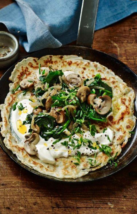 Dish, Food, Cuisine, Ingredient, Flatbread, Produce, Side dish, Recipe, Comfort food, Pizza,