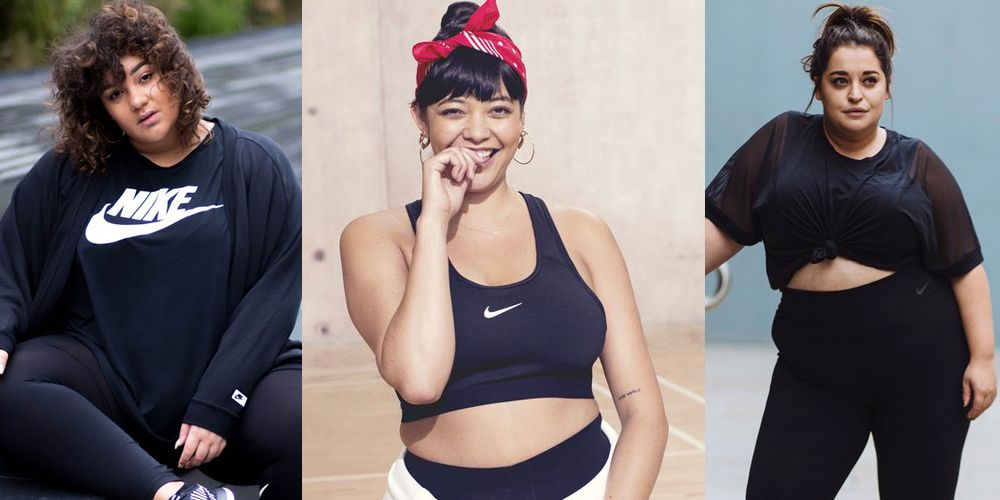 nike have launched a plus size range