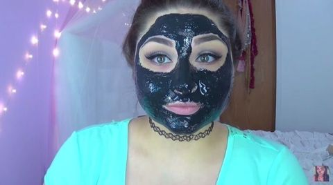 Dangers of peel off charcoal blackhead face mask