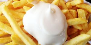A mayonnaise café is opening and it sounds full on
