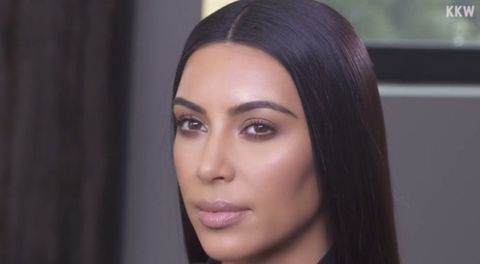 Kim Kardashian now prefers natural makeup - less highlight
