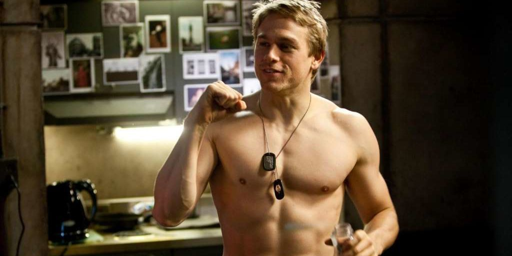 Charlie Hunnam reveals the secret to staying in shape: sex. A LOT of sex