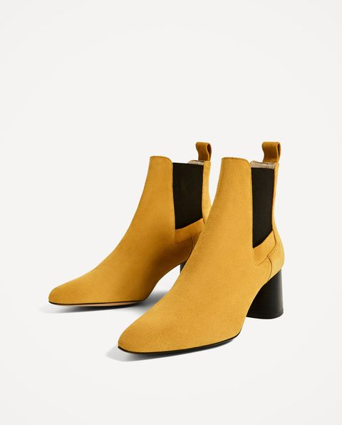 Footwear, Brown, Yellow, Tan, Boot, Beige, Leather, Buckle, Synthetic rubber, Fashion design,