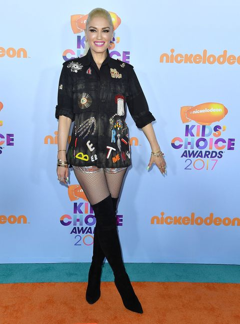 celeb fashion at the Kids' Choice Awards 2017