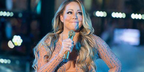 Mariah Carey refused to sing at her NYE performance