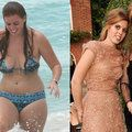 Following a rather mean bashing by the press when she was snapped in a bikini in 2008 Princess Beatrice got bikini confident and beautiful by following a diet that focuses on eating fresh fruit and drinking plenty of water.  She sped up her dramatic weight loss by taking part in the London marathon last year and it's certainly paid off she looks amazing!