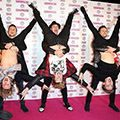 """<p>McBusted decided that the standard red carpet routine of pose and pout wasn't for them, so instead they pulled out this move. """"We've been at it again. We were feeling brave tonight...well, 3 of us were,"""" they tweeted.</p><p><a href=""""http://www.cosmopolitan.co.uk/celebs/ultimate-women-of-the-year/cosmo-girl-party-fashion"""" target=""""_blank"""">SEE COSMO'S PARTY STYLE</a></p><p><a href=""""http://www.cosmopolitan.co.uk/beauty-hair/news/trends/celebrity-beauty/cosmo-ultimate-women-awards-2013-celebrity-hairstyles-makeup"""" target=""""_blank"""">KILLER HAIR AND MAKE-UP LOOKS AT THE COSMO AWARDS</a></p><p><a href=""""http://www.cosmopolitan.co.uk/celebs/ultimate-women-of-the-year/winners-list-2013"""" target=""""_blank"""">THE COSMOS 2013: THE WINNERS</a></p>"""