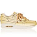 <p>These trainers are THE SHIZZLE. Swish gold leather, anyone? Wear with white for a proper 'pop'.</p>