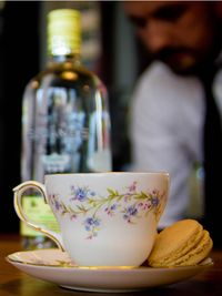"""<p>The winner of Sloane's Gin Twisted Traditions Cocktail Competition has been announced as Robin Webb from <a href=""""http://www.64thsocial.com"""" target=""""_blank"""">64th&Social</a> in Clapham. </p><p>We love how creative he got with the presentation of Grandma Sloanes Tea Time Tipple.</p><p>Get your cutest vintage tea set out and impress your mates with this award winning cocktail.</p><p><strong>Grandma Sloanes Tea Time Tipple</strong></p><p><strong>Ingredients:</strong></p><p>50mls Vanilla Rose pouchong (black tea) infused with Sloane's Gin for 10mins (no heat needed)</p><p>25mls lemon juice</p><p>10mls rose syrup</p><p>Egg white</p><p>2 dashes orange bitters</p><p>(optional – violet essence atomiser)</p><p><strong>Method:</strong></p><p>Dry shake, then hard shake over cubed ice</p><p>Served straight up in grandma's best bone china</p><p>Garnished with two vanilla macaroons and (optional) give a quick spray with the violet essence.</p>"""