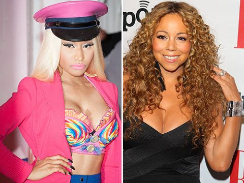 <p>Ding Ding! It's round two of the Nicki Minaj vs. Mariah Carey fight. After their major first bust-up where Nicki threatened Mariah, the claws came out again at the American Idol auditions. The judges started arguing about a contestant which prompted Nicki to drop the F bomb and storm off the stage while threatening to leave the show. Yikes. Hmm, we reckon that with two divas on the same show, round three is round the corner…</p>