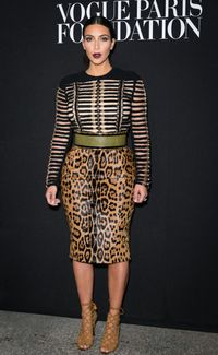 <p>Kim has long been a fan of Balmain and even wore a custom dress by the label on her wedding day after changing out of her Valentino gown.</p>