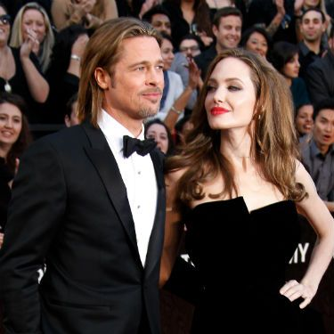 """<p>Angelina Jolie and Brad Pitt have been together seven years now, after meeting on the set of 'Mr & Mrs Smith'. The pair have six (count 'em!) children together - Zahara, Knox, Maddox, Pax, Shiloh and Vivienne - who were apprently the reason that the Hollywood couple decided to get married! The little ones were apprently desperate for their mum and dad to tie the knot at last, just """"like Shrek and Fiona.""""</p><p>We hope that's not the wedding theme...</p>"""