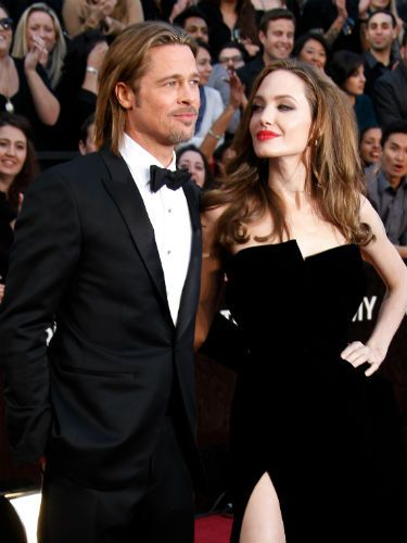 "<p>Angelina Jolie and Brad Pitt have been together seven years now, after meeting on the set of 'Mr & Mrs Smith'. The pair have six (count 'em!) children together - Zahara, Knox, Maddox, Pax, Shiloh and Vivienne - who were apprently the reason that the Hollywood couple decided to get married! The little ones were apprently desperate for their mum and dad to tie the knot at last, just ""like Shrek and Fiona.""</p> <p>We hope that's not the wedding theme...</p>"