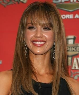 "<p><strong>The full fringe, like Jessica Alba's, is a key look for spring but, where last year's had a hard edge, this season it's much softer,"" says celeb snipper Lee Stafford. Get the fringe benefits with his top tips...</strong></p><ul><li>This look suits most face shapes and is great for softening strong features or hiding a large forehead. I would avoid it, though, if you have very rounded features. <br /></li></ul><br />Photograph: Getty Images<br />"