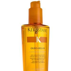 "<p>•   <strong>Kérastase Oléo-Relax serum, £15.50</strong></p><p>""Once dry, make a low ponytail and twist upwards, tucking and pinning it against the scalp as you go.""   </p>"